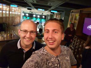 Hero Conf Londen Rick en Erik bowling