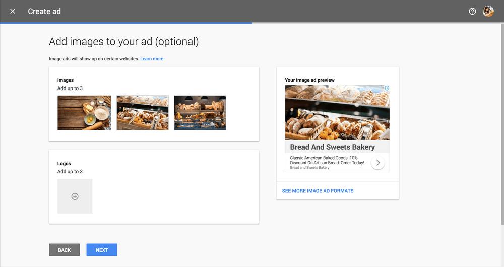 Image Picker afbeelding toevoegen in Google Ads