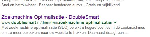 Zoekmachine optimalisatie SEOshop blog
